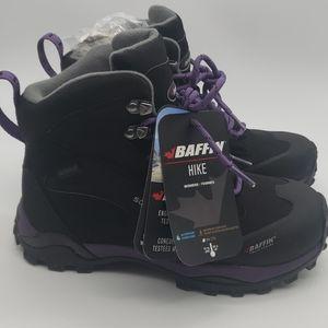 Shoes - Baffin Women's Hike Hiking Boots Black/plum